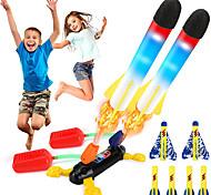 economico -lanciarazzi giocattolo per bambini volare fino a 100 piedi giocattoli razzi aria all'aperto regalo per ragazzi ragazze bambini inclusi 8 razzi