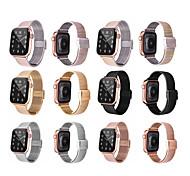 economico -smart watch band for apple iwatch 1 pcs business band cinturino da polso di ricambio in acciaio inossidabile per apple watch series se / 6/5/4/3/2/1