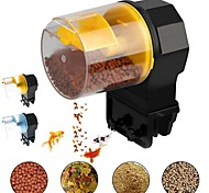 abordables -Mangeoire automatique pour poissons d'aquarium Réservoir de poissons d'aquarium électrique Mangeoires automatiques avec minuterie Distributeur d'alimentation pour animaux de compagnie