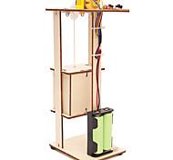 abordables -bricolage assemblage ascenseur électrique jouet enfants science expérience matériel kits jouet cadeau