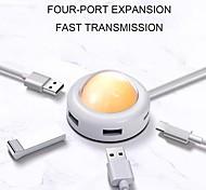 economico -LITBest Alta velocità USB USB 3.0 a USB 3.0 USB C Hub USB 4 Porti Per Windows, PC, laptop