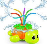 abordables -arroseur d'extérieur pour enfants - arroseur rotatif de tortue d'arrière-cour avec tube d'oscillation - jouet d'éclaboussure pour l'été - jouets d'eau de pelouse de jardin extérieur cadeaux pour 3 4