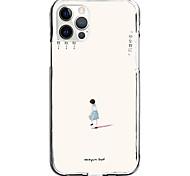 economico -custodia personaggi creativi per apple iphone 12 iphone 11 iphone 12 pro max custodia protettiva dal design unico antiurto modello antipolvere cover posteriore tpu
