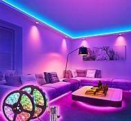 abordables -bandes lumineuses à LED ensembles de lumière à intensité variable 10m rgb tiktok lumières 600 leds 5050 smd 10mm télécommande rc cuttable 100-240 v liable auto-adhésif changeant de couleur ip44