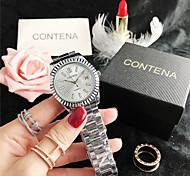 abordables -montre pour femme simple strass diamant montres de grande marque