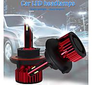 abordables -otolampara 120w h1 voiture led h3 ampoule de remplacement de phare 880 super lumineux légèreté feux de croisement 9004 phare étanche 9005 h11 antibrouillard h13 pour ford / chevorlet / toyota / gmc /