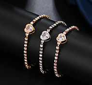 abordables -souhaite e-commerce transfrontalier nouveaux bijoux à la main européen et américain simple bracelet ajustable en zircon serti de diamants