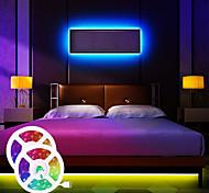 economico -luci di striscia a led musica sincrona impermeabile 65ft 2x10 metri striscia di luce multicolore felice 5050 rgb ha condotto la luce di striscia flessibile con 20 tasti controller ir opzionale con