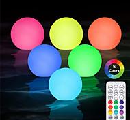 economico -luce subacquea per piscina attività all'aperto 8cm led palla colorata per cortile stagno giardino decorazione prato illuminazione colorata piscina galleggiante lampada da discoteca ip68 con