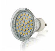 abordables -Projecteur LED 2.5 W 200-250 lm GU10 30 Perles LED 2835 SMD Décoratif Blanc Chaud Blanc Naturel Blanc 1 Pièce AC 220-240 V