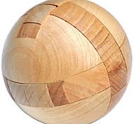 abordables -puzzle en bois boule magique casse-tête jouet intelligence jeu sphère puzzles pour adultes / enfants