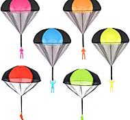 economico -6 pezzi paracadute giocattolo, paracadute giocattolo da lancio senza grovigli, giocattoli volanti per bambini all'aperto, lancialo e guarda l'atterraggio di giocattoli all'aperto per bambini e adulti
