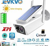 economico -fhd 3mp batteria solare telecamera wifi esterna ir visione notturna audio bidirezionale pir rileva allarme telecamera ip cctv ricaricabile senza fili