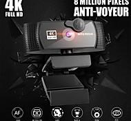 economico -webcam per pc con microfono 4k full hd 1080p widescreen gioco per computer video lavoro webcamera rotabile usb web camera cam