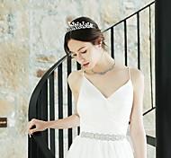 economico -Lusso Matrimonio Strass Accessori per capelli con Intagli / Cristalli / Strass 1 pezzo Matrimonio / Occasioni speciali Copricapo