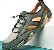abordables -2021 été nouveaux hommes chaussures décontractées en maille mode pieuvre peas chaussures en plein air respirant grande taille chaussures en amont