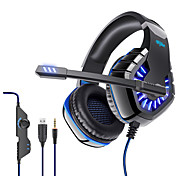 abordables -OVLENG GT82 Casque Gamer Prise audio USB 3,5 mm Conception Ergonomique Rétractable Stéréo pour Apple Samsung Huawei Xiaomi MI Ordinateur PC