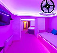 abordables -lumières de bande led 16,4ft 5m lumières tiktok flexibles uv lumière noire 395-405nm 2835 bande flexible led de 8 mm dc12v pour la peinture corporelle d'éclairage de scène de danse fluorescente