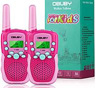 abordables -talkies-walkies pour enfants, 22 canaux radio 2 voies cadeau de jouet pour enfant longue portée de 3 km avec lampe de poche LCD rétro-éclairée meilleurs cadeaux jouets pour garçons et filles à