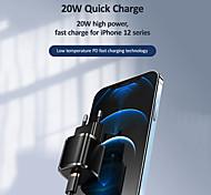 abordables -usams us-cc124 pd chargeur 20w qc4.0 qc3.0 usb type c chargeur rapide charge rapide 4.0 3.0 qc pour iphone téléphone pd chargeur pour xiaomi huawei samsung