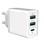 economico -30 W Potenza di uscita USB Caricatore PD Caricatore veloce Caricabatterie portatile Portatile Multiuscita Ricarica veloce Zero Per Cellulari