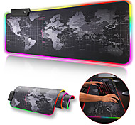 economico -gaming mouse pad rgb mouse pad gamer computer mousepad rgb backlit mause pad large mousepad xxl for desk keyboard led mice mat