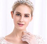 economico -Lusso Elegante Lega Accessori per capelli con Cristalli / Perle 1 pezzo Matrimonio / Occasioni speciali Copricapo