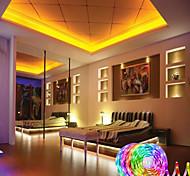 abordables -bandes led ultra-longues rgb 20m 65.6ft 5050 bandes led lumières flexibles changeantes de couleur led lumières avec 44 touches télécommande ir pour chambre cuisine bricolage décoration de la maison