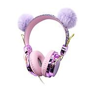 """economico -LITBest S1 Auricolari in-ear cablato """"Jack audio da 3,5 mm"""" Con il controllo del volume sweatproof Controllo InLine per Apple Samsung Huawei Xiaomi MI Cuffie per bambini"""