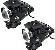 abordables -moto voiture électrique modifiée lampe led lampe u5 transformateurs laser canons phares avec lumière forte lumière faible flash 2pcs