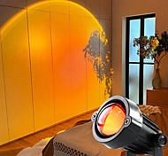abordables -lampe de projection coucher de soleil projecteur arc-en-ciel atmosphère LED veilleuse bar à café à la maison lampes de projecteur intérieures lampes décoratives extérieures