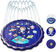 economico -4 in 1 splash pad per bambini 70 pollici all'aperto per bambini water pad piscina per bambini e irrigatore e tappetino da gioco per ragazze gonfiabile kiddie piscina giochi d'acqua per bambini dai 12