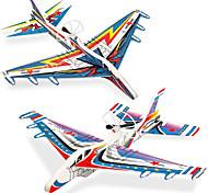economico -2 pack aeroplani giocattoli aliante aerei per bambini aeroplani di schiuma per bambini 8 9 10 anni aeroplano giocattolo per ragazzi regali di compleanno 5-7 anni giocattoli auto volanti ricaricabili