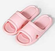 abordables -été couple sandales et pantoufles maison décoller chaussures intérieur fond mou salle de bain chaussures de bain eva maison pantoufles femmes été