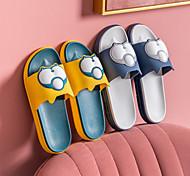 abordables -sandales et pantoufles femmes maison été intérieur mignon maison salle de bain antidérapant maison fond épais les couples portent fond mou