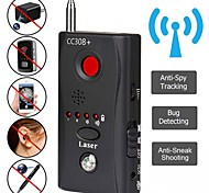 economico -rilevatore di segnale obiettivo fotocamera wireless cc308 + rilevamento segnale onde radio fotocamera full-range wifi rf tracker dispositivi gsm finder hot