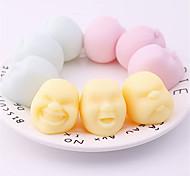 abordables -Squeeze Toys Visage Humain Balle Squeeze Emotion Vent Anti-Stress Jouets Pour Adultes Enfants