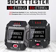 abordables -ET89EU ET89US Testeur de prise de courant intelligent avec écran LCD Testeur de prise de courant