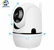economico -tracciamento e rotazione automatici, telecamera di sorveglianza wireless 1080p, visualizzazione remota della telecamera di rete Wi-Fi della famiglia