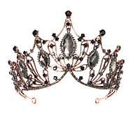 economico -Lusso Barocco Lega Accessori per capelli con Lustrini / Dettagli con cristalli 1 pezzo Matrimonio / Occasioni speciali Copricapo