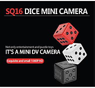 economico -sq16 hd 1080p mini telecamera camcorder dice micro telecamera rilevamento del movimento a infrarossi dvr video registratore vocale sports cam pk