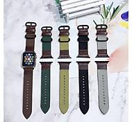 economico -Cinturino intelligente per Apple  iWatch 1 pcs Chiusura classica Similpelle Tela Sostituzione Custodia con cinturino a strappo per Apple Watch Serie SE / 6/5/4/3/2/1