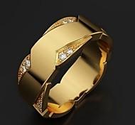 economico -Anello Oro Lega Di moda 1 pc 6 7 8 9 10 / Per uomo