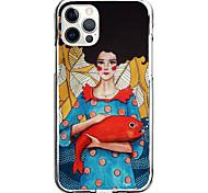 economico -gionee girl case for apple iphone 12 11 se2020 design unico custodia protettiva antiurto custodia tpu clear case for iphone 12 pro max xr xs max iphone 8 7