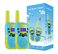 abordables -talkies-walkies pour garçons de 3 à 12 ans, talkies-walkies pour enfants 22 canaux Radio 2 voies jouet avec lampe de poche LCD rétro-éclairée, portée de 3 miles pour l'extérieur, camping, randonnée