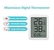 abordables -Xiaomi mi mijia miaomiaoce e-ink écran lcd grand affichage numérique thermomètre hygromètre température humidité capteur