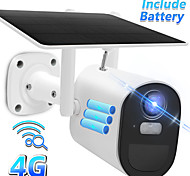 economico -1080p hd wireless 4g telecamera esterna di sicurezza solare telecamera ip batteria integrata sim card telecamera bullet visione notturna a colori