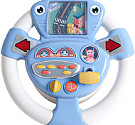 abordables -jouet de volant pour siège de voiture simulateur d'enfants jouets de roue de conduite jeu de course avec lumière et musique portable jouer à semblant apprendre jouets éducatifs pour garçons filles