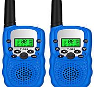 abordables -talkies-walkies pour enfants 22 canaux radio 2 voies jouet avec lampe de poche LCD rétro-éclairée ensemble de talkie-walkie pour enfants aventures en plein air randonnée jeux de matériel de camping
