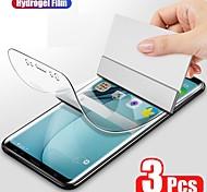 abordables -Protection Ecran Apple Film d'hydrogel S21 S21 Plus S21 Ultra Galaxy A32 Galaxy A52 3 pcs Haute Définition (HD) Extra Fin Auto-guérison Ecran de Protection Avant Film Vitre Protection Accessoire de